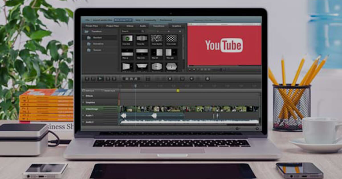 editing youtube video